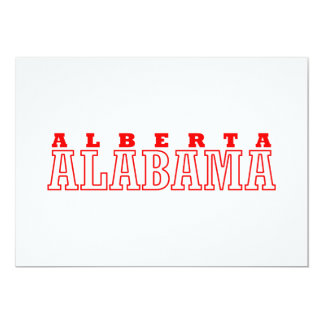Alberta, Alabama City Design Card