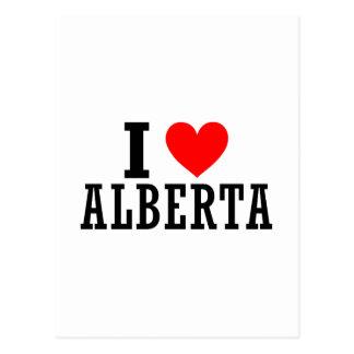 Alberta, Alabama City Design Postcard