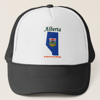ALBERTA AT LEAST WE'RE NOT NEBRASKA TRUCKER HAT