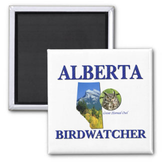 Alberta Birdwatcher Magnet