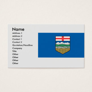 Alberta , Canada Business Card