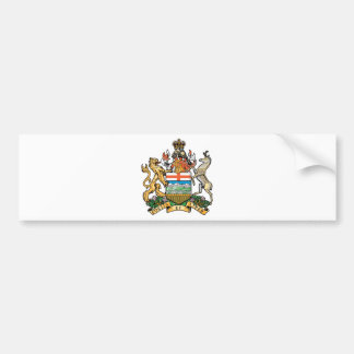 Alberta (Canada) Coat of Arms Bumper Sticker