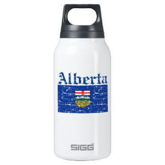 Alberta Canada Flag design SIGG Thermo 0.3L Insulated Bottle