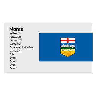 Alberta, Canadá Tarjetas De Visita