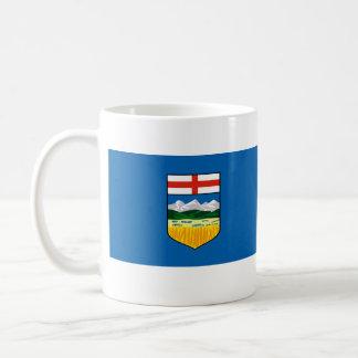 Alberta, Canadá Taza Básica Blanca