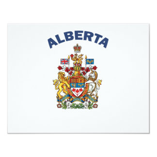 Alberta Coat of Arms Card