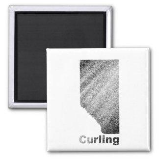 Alberta Curling Magnet
