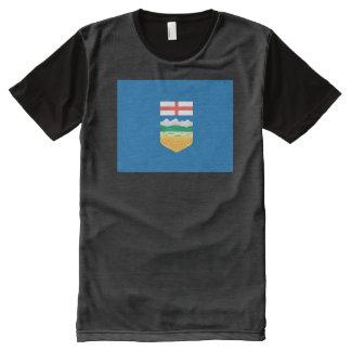 Alberta Flag All-Over Print T-shirt