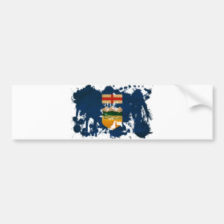 Alberta Flag Bumper Sticker