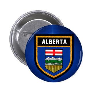 Alberta Flag Pinback Button