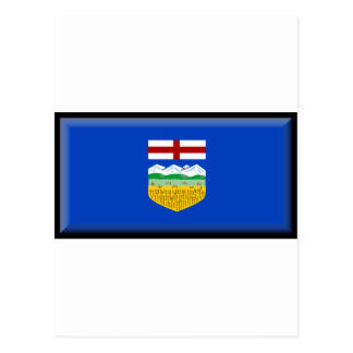 Alberta Flag Postcard