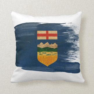 Alberta Flag Throw Pillow