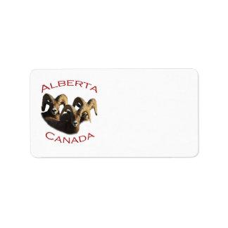 Alberta Label