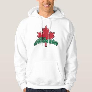 Alberta Maple Leaf Hoodie