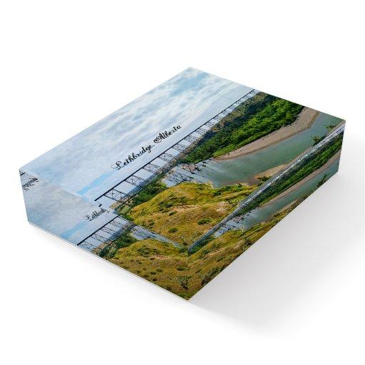 Alberta Railway Icon Paperweight