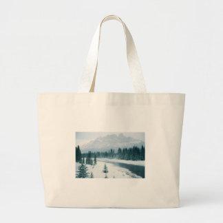 Alberta Snowy Scene Bag