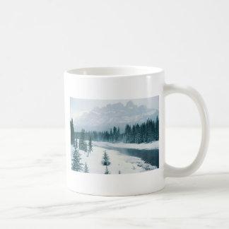 Alberta Snowy Scene Mugs