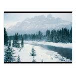 Alberta Snowy Scene Post Cards