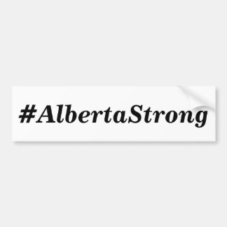 Alberta Strong Bumper Sticker
