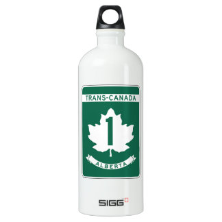 Alberta, Trans-Canada Highway Sign SIGG Traveler 1.0L Water Bottle