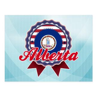 Alberta, VA Tarjeta Postal