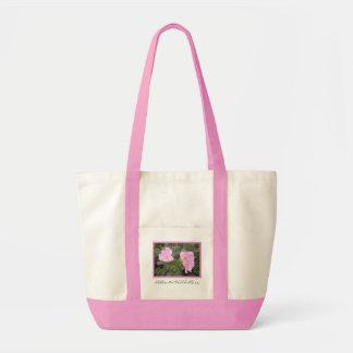 Alberta Wild Rose Tote Bag