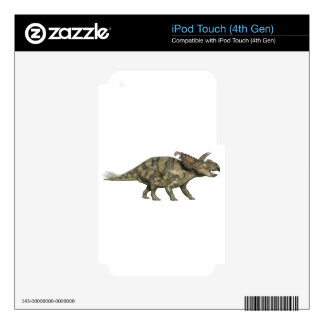 Albertaceratops Dinosaur in Side Profile Skin For iPod Touch 4G