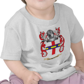 Alberto Coat of Arms (Family Crest) T Shirt
