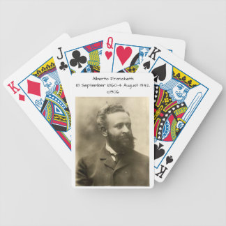 Alberto Franchetti c1906 Bicycle Playing Cards