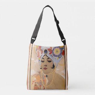 Alberto Vargas Art Deco Cross Body Handbag
