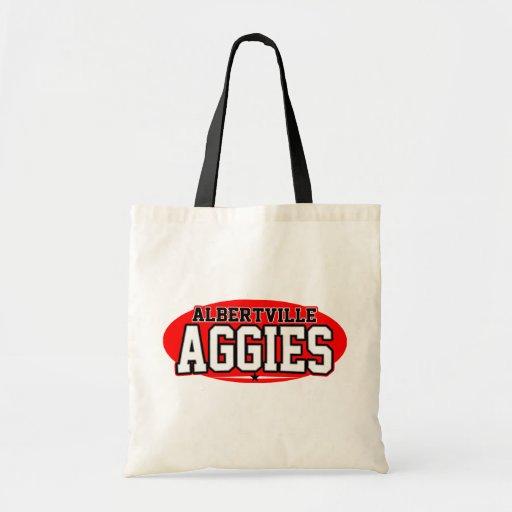 Albertville High School; Aggies Budget Tote Bag