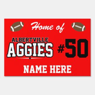 Albertville High School; Aggies Sign