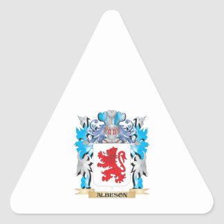 Albeson Coat Of Arms Stickers