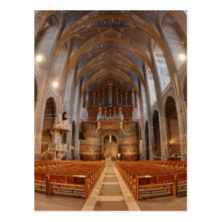 Albi Cathedral Nave Postcard