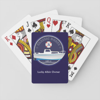 Albin 25 playing cards