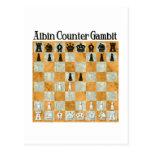 Albin Countergambit Postcard