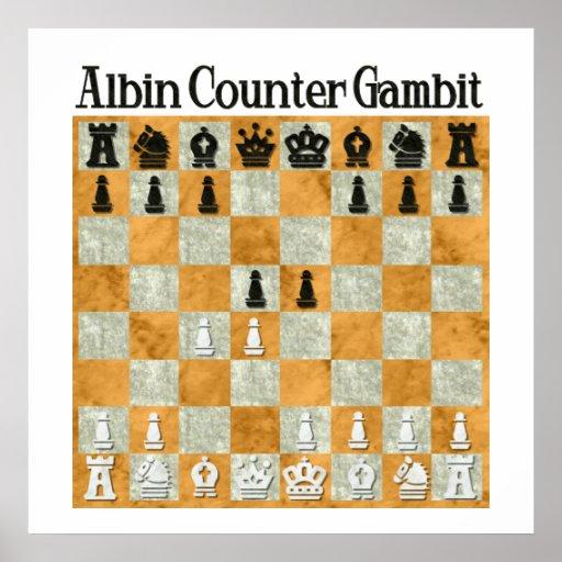 Albin Countergambit Poster
