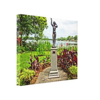 Albin Polasek Sculpture Gardens Winter Park FL Canvas Print