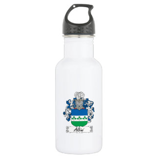 Albini Family Crest 18oz Water Bottle