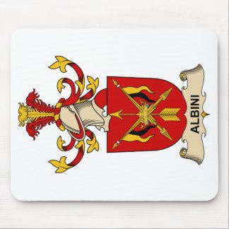 Albini Family Crests Mouse Pad