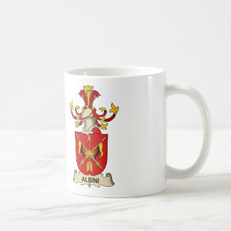 Albini Family Crests Classic White Coffee Mug