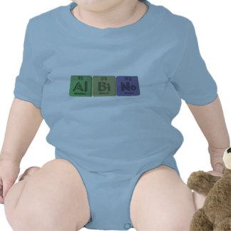 Albino-Al-BI-Ninguno-Aluminio-Bismuto-Nobelio Trajes De Bebé