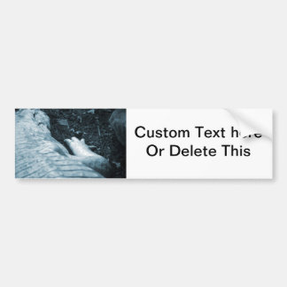 albino alligator right side blue tint animal bumper sticker