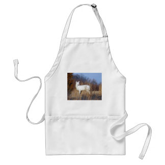 albino adult apron