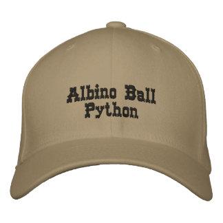 Albino Ball Python Basic Flexfit Wool Cap