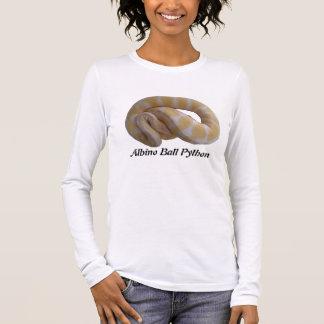 Albino Ball Python Ladies Long Sleeve Long Sleeve T-Shirt