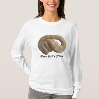 Albino Ball Python Ladies Long Sleeve T-Shirt
