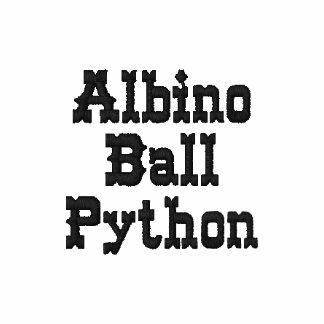 Albino Ball Python Ladies Petite T-Shirt