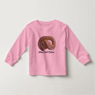 Albino Ball Python Toddler Long Sleeve Toddler T-shirt
