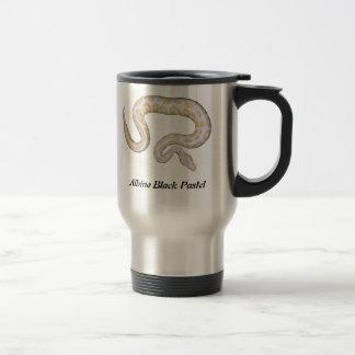Albino Black Pastel Travel/Commuter Mug